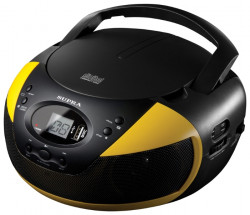 Магнитола Supra BB-CD121U yellow