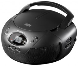 Магнитола SUPRA BB CD 121U BLACK